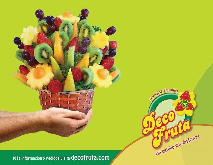 Arreglos De Frutas Y Flores, Centros De Mesa, Decofruta, Ens - en ...