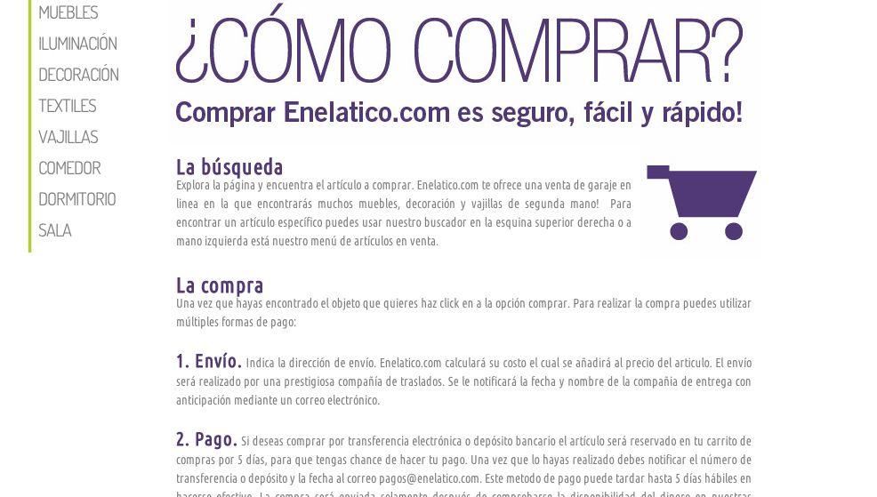 Enelatico.com, la primera venta de garage online | 0800Flor
