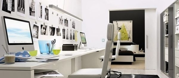 7 pasos para decorar nuestro espacio de trabajo 0800flor - Decoracion de despachos en casa ...