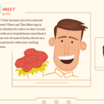 """Pasa el Día de San Valentín en """"la nube"""" #infografía"""