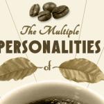 Las múltiples personalidades de los bebedores de café, ¿Cuál de todos eres tú? #Infografia
