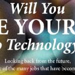 ¿Podrá una máquina sustituirte en tu puesto de trabajo? #Infografía