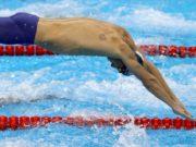 ¿Qué son los círculos rojos en los atletas olímpicos?