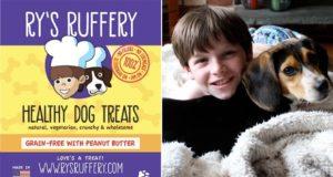 Ry's Ruffery, galletas caseras para perros