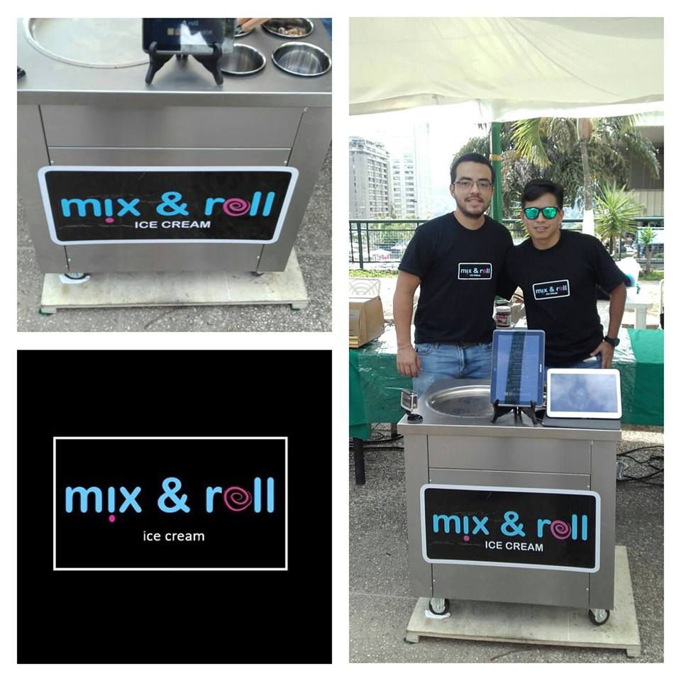 Mix and Roll Ice Cream, helados deliciosos y… Novedosos 1