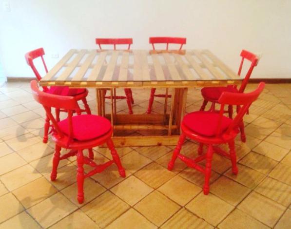 Pale guacales y paletas transformando material en obras for Muebles hechos en paletas de madera