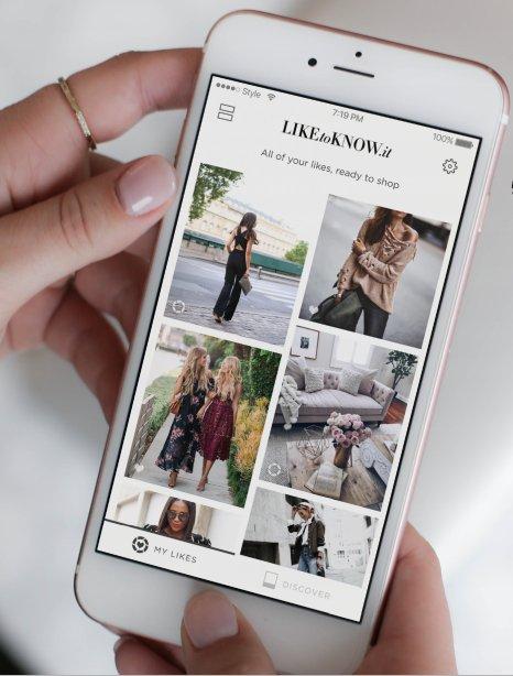 LikeToKnow.it, una plataforma para influencers