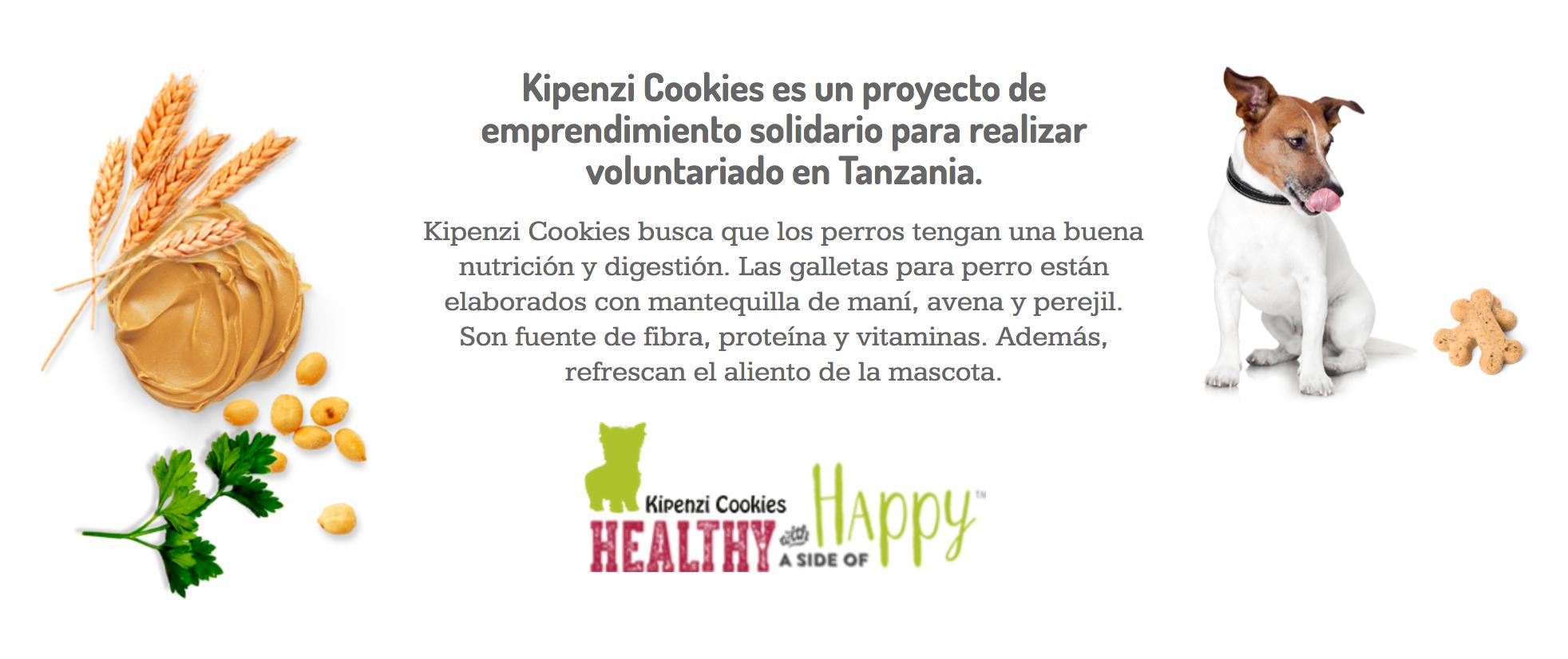 Kipenzi Cookies, galletas para perros y una maravillosa labor