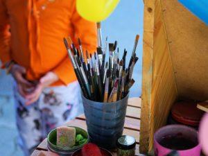 Hay muchos elementos extra que pueden ser utilizados al pintar