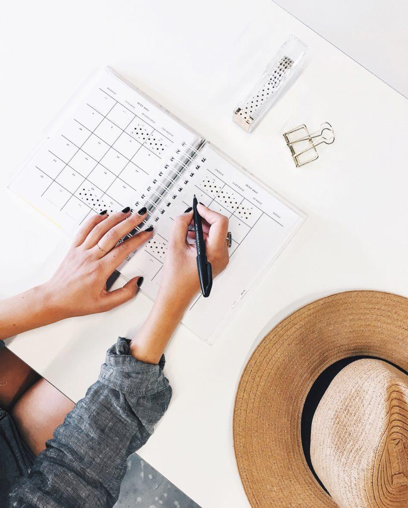 El uso de agendas o aplicaciones puede ser muy útil a la hora de organizar tu tiempo