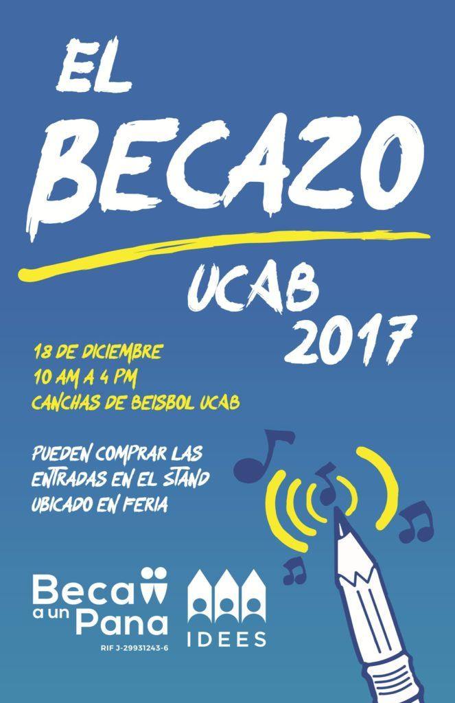 Volvió el Becazo. Imagen cortesía de:https://vida.ucab.edu.ve/vidaucab_events/becazo/