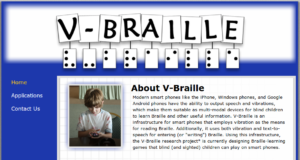 VBraille, un teclado para la comunicación ¡Maravilloso!