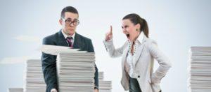Los malos gerentes intimidan con miedo a sus empleados