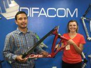 Difacom, trayendo a la vida bicicletas de fibra carbono
