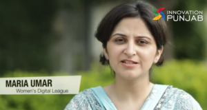 María Umar, emprendedora de un negocio de puras mujeres