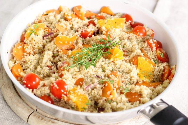 Quinoa, elemento clave para una dieta rica y saludable