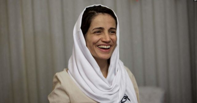 Cortesía de: https://www.amnesty.org/es/get-involved/take-action/iran-free-nasrin-satoudeh-now/